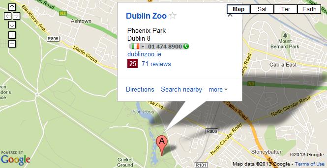 Dublin Zoo Zoo Dublin Accommodation near Dublin Zoo Dublin